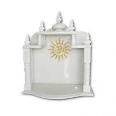 Pure Makrana Marble Temple-MRB-TL001