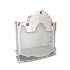 Pure Makrana Marble Temple-MRB-TL002