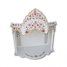 Pure Makrana Marble Temple-MRB-TL005