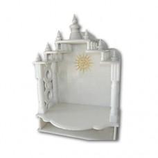 Pure Makrana Marble Temple-MRB-TL012