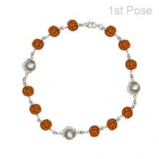 Parad Rudraksha Bracelet ( 3 Beads )-PRD-BR001
