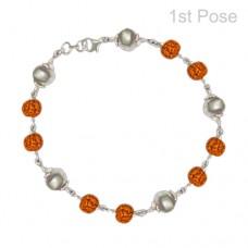 Parad Rudraksha Bracelet ( 5 Beads )-PRD-BR003