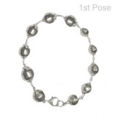 Parad Rudraksha Bracelet ( 11 Beads )-PRD-BR004