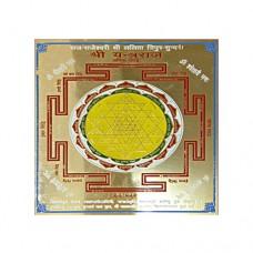 Energized Shree Yantraraj Yantra-YNT-ENG006