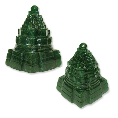 Green Jade Shree Yantra-YNT-TRD007